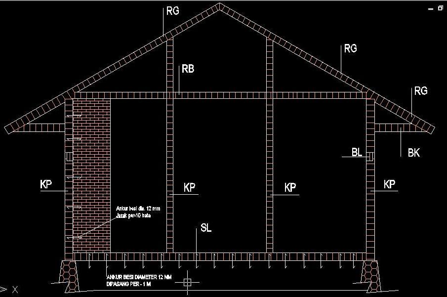 Konstruksi tahan gempa untuk rumah tinggal sederhana